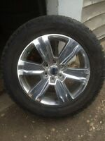 Brand new 2015 F-150 rims and tires.  20""