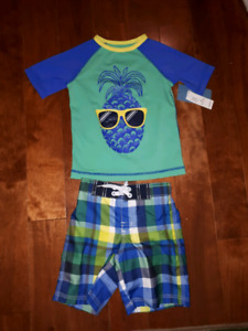 New with tags boys bathing suit