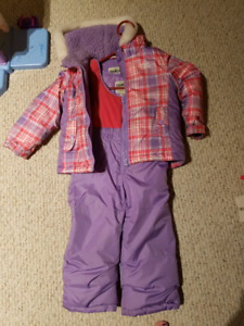 Girls snow suit and boys snow pants
