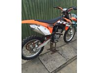 Ktm sxf 250 2012 not 125 crf yzf mx bike