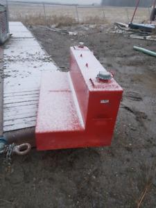 430 liter L slip tank. Like new