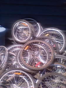 Bicycle tires rims, tubes and also have parts live in bayside