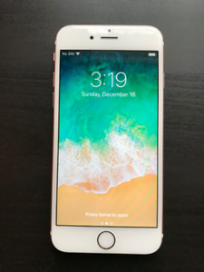 Reduced - Iphone 6s 16gb - Rose Gold