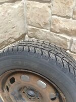 Winter rims and tires for sale