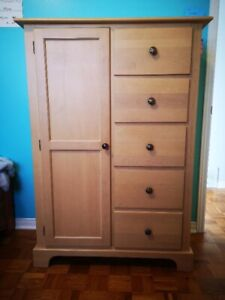 Maple Dresser Drawer And