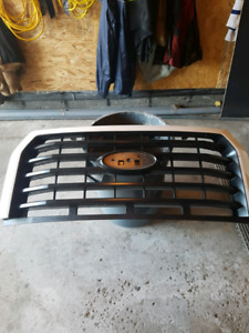 Ford f150 white sport grill.