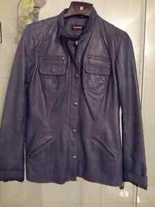 6 Beautiiful Leather Jackets, 2 Jean Jackets Kitchener / Waterloo Kitchener Area image 1