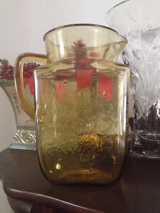 Yellow Depression Glass. Individual prices