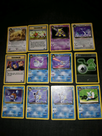 Pokemon cards rocket 26 cards non holos in great condition