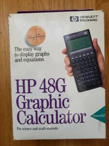HP 48G Graphic Calculator
