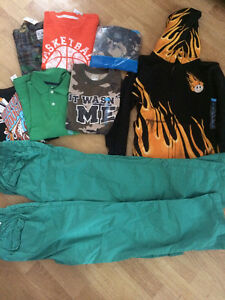 All new boys size 10/12 clothes