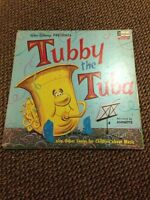 Walt Disney's Tubby the tuba 1963 Record