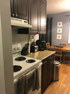 OCTOBER 1 : $950 Modern 1 BEDROOM APT w BALCONY