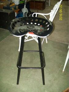 Cool Stool Made From A Tractor Seat $125.00