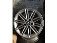 "Bmw 1 series e87 coupe hatchback 116 118 120 123 135 BMW 5120 17"" genuine alloys"
