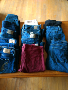 Hollister & American Eagle jeans