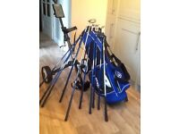 Full set of teenager good quality golf clubs bag trolly balls & tee ideal Xmas git