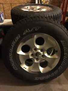 5 (2016) Jeep Wrangler Rims and Tires. Regina Regina Area image 1