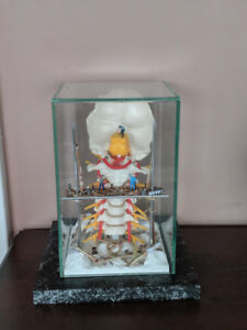 Miniature Figurine Spine Diorama