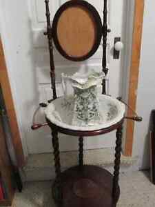 Antique Pitcher and Basin with Stand London Ontario image 1