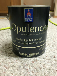 Sherwin Williams Opulence eggshell paint - 3 colours available