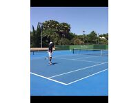 Tennis Hitting Partner Required