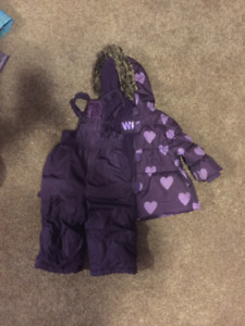 Kids Snow Suit - Girl Size 1 - Two Piece