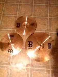 Drum cymbals. Meinl mcs hi-hat,  ride,  crash and a china!