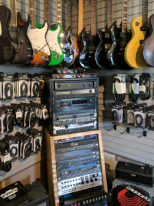 Used gear sale. 20 to 50% off  amps and rack gear.