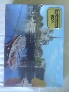 Three 1500 Piece Jigsaw Puzzles Still in Shrink Wrap North Shore Greater Vancouver Area image 3