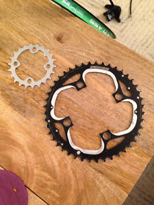 Specialized front bike chain rings