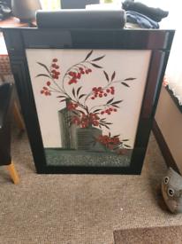 Black gloss frame