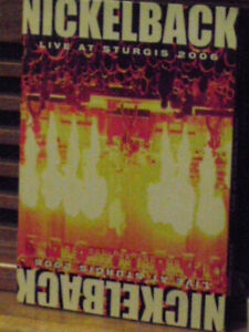 nickleback live at sturgis 2006' live in concert dvd mint cond