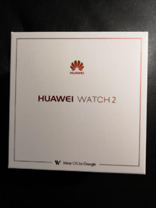 Two Huawei Watch 2 - brand new, still in box (SALE PRICE)