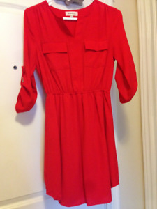 Red Dress for Valentine's Day (Never Worn) & more