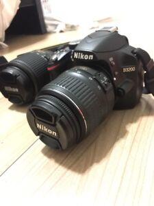 Nikon D3200 - full kit with 2 lenses
