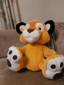 Large Posh Paws Lion Cub