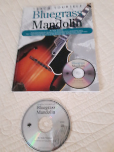 Music Book - Teach Yourself Bluegrass Mandolin by Andy Statman