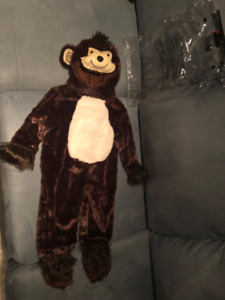 Super Cute Baby Monkey Costume - size 6-12 month