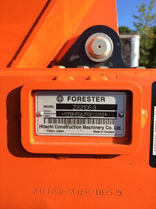 2015 Hitachi Zaxis Forester Prince George British Columbia image 3