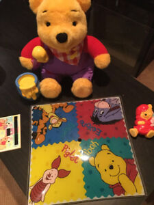Winnie the Pooh Bedroom Accesories and Toy