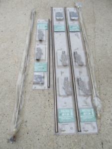 5 CURTAIN RODS - NEW