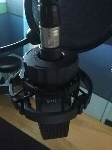 AKG 414 CONDENSOR MICROPHONE
