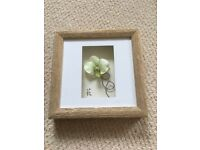 Next 3D orchid boxed photo frame