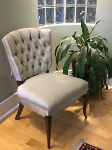 Two Vintage Occasional Chairs and One Office Chair