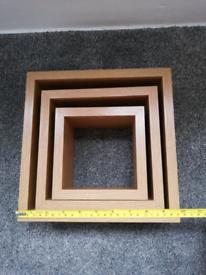 3 shelves box frames