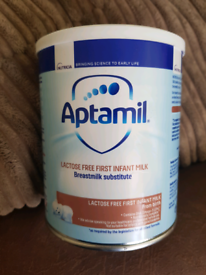 Aptamil Lactose Free First Infant Milk - Brand New Unopened