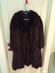 Black Royal Mink Coat