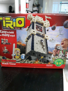 Trio watch tower
