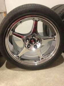 MUSTANG COBRA R *CHROME* aluminum wheels - Authentic Ford Regina Regina Area image 3
